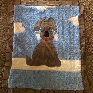 Original Boogie Baby Boy Blanket frm Neiman Marcus